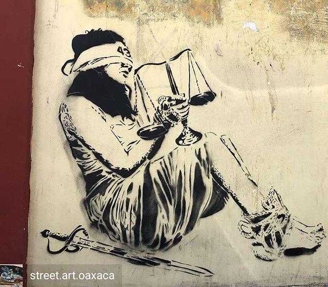 Repost de @street.art.oaxaca-  Seguimos en la búsqueda Arte de: @yescka_art